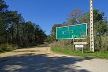 Camino a Sant Pere del Bosc.