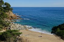 Playa de Sa Boadella.