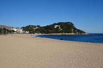 Playa de Fenals.