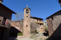 Iglesia de Sant Martí de Llagunes.