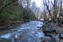 Río del Cantó desde la fuente de Canemassos.