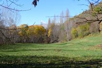 Bonitas vistas del valle del río del Cantó.