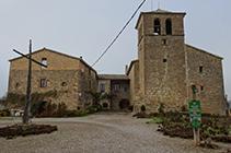 Iglesia de Sant Miquel de Pinell.