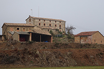 Masía de Sant Tirs.