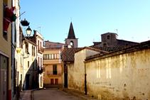 Campanario de la iglesia de Santa Maria de Sales.