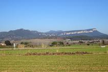 Riscos de Sant Roc desde el Pla del Pasteral.