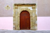 Puerta en la rambla del Monestir.