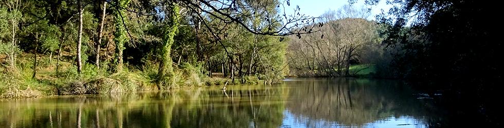 Ruta de los pantanos de Llobet en Vidreres
