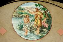 Detalle de la iglesia de Sant Joan Baptista.
