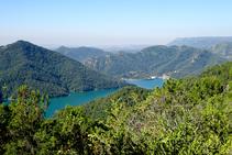 Vista de La Baells.