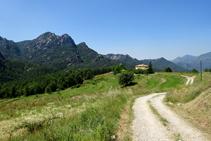 La sierra de Picancel, Cal Pere y los campos de Vilarrassa.