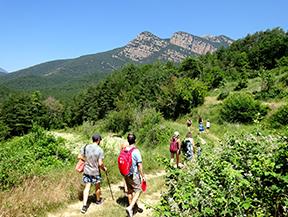 Por los alrededores de Vilada en el Bergued�