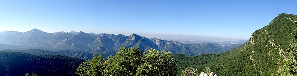 Por los alrededores de Vilada en el Berguedá