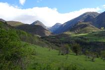Sierra Mitjana y el valle de la Gola.