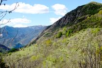Vertiente O del valle de Unarre.