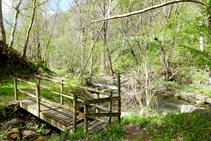 Confluencia del arroyo de Gavàs y el río de Unarre.
