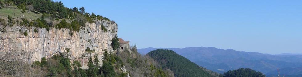 Camino antiguo del santuario de Montgrony desde Gombrèn