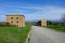 Las celdas de Nuestra Señora y de Sant Benet.