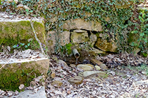 La fuente del Bisbe.