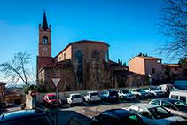Final de la ruta, en la plaza Sant Francesc.