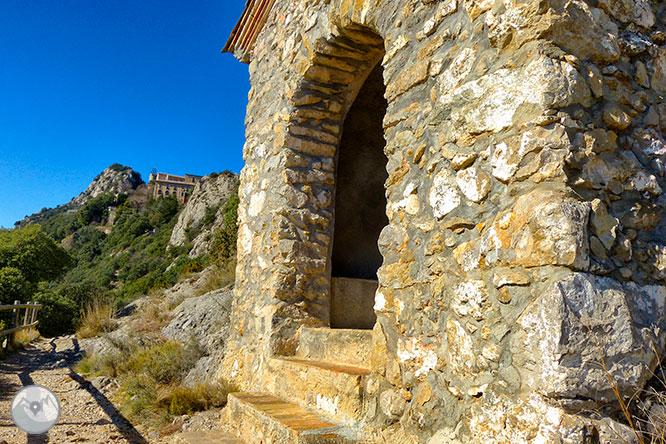 Santuario de Queralt desde Berga 1