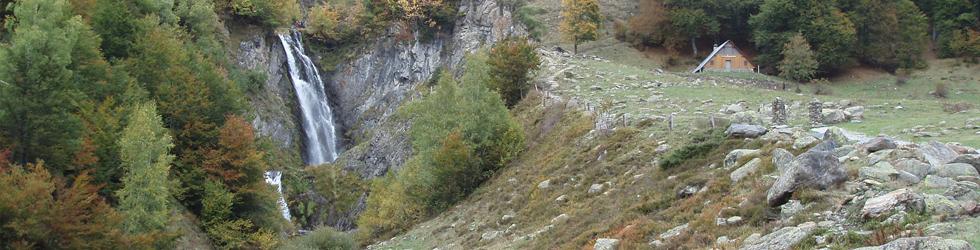 Saut deth Pish en el valle de Varradós
