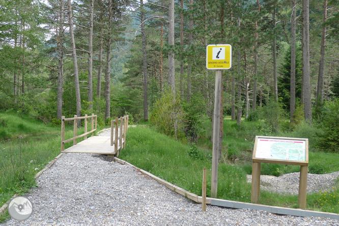 Sendero accesible del Cornato en valle de Pineta 1