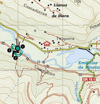 Valle De Pineta Mapa.Sendero Accesible Del Cornato En El Valle De Pineta Rutas