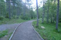 Primer tramo del sendero.