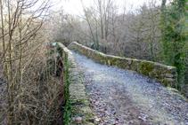 Puente medieval de Vallfogona de Ripollès.