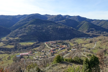 Sierra de Milany y Vallfogona de Ripollès.