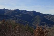 Sierra y castillo de Milany.