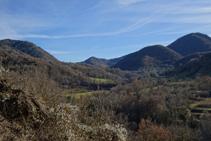 Collado de Canes, camino a Vallfogona de Ripollès.