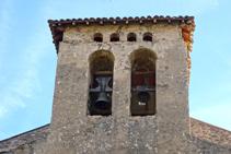 Campanario de Sant Julià de Vallfogona.