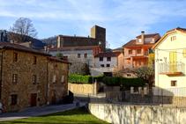 Calles de Vallfogona de Ripollès.