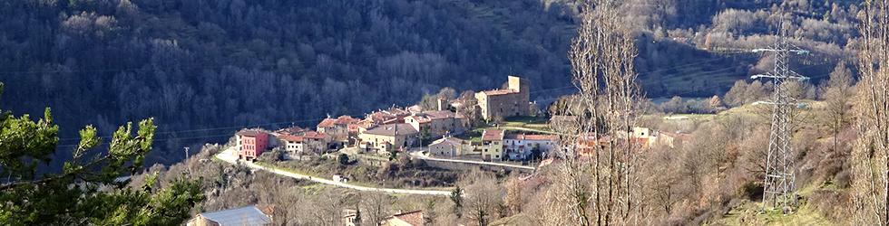 La sierra de Puig d�Estela en Vallfogona de Ripollès