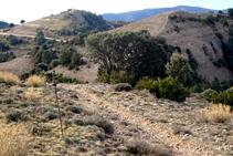El camino de la sierra Seca.