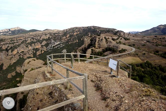 Serra Seca y el Pla de les Guàrdies desde Cambrils 1