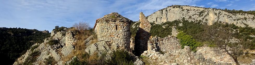 Serra Seca y el Pla de les Guàrdies desde Cambrils