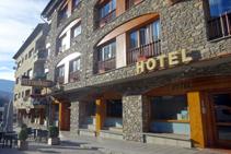 Comenzamos nuestra ruta en el Hotel Les Brases de Sort.