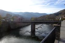Puente sobre el Noguera Pallaresa.