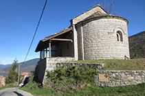 Iglesia de Santa Magdalena de Puigsac.
