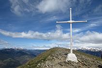 Cima del Taga, a 2.040m de altitud.