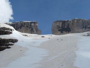 Taill�n (3.144m) por la Brecha de Rolando