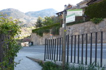 Carretera de la Rabassa a la urbanización de la Pleta de Sibós.