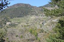 Vista hacia Sant Serni de Nagol.