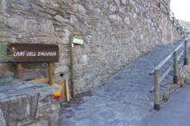 Camino viejo de Auvinyà.