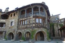 Pueblo medieval de Auvinyà.