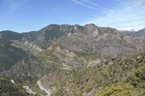 Vistas sobre la sierra del Teix y del Vedat con el Solà de Rocafort.