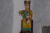 Virgen de la iglesia de Sant Pere.